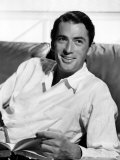 Gregory Peck in the Late 1940s Poster