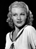 Ginger Rogers, in a Publicity Portrait, c.1936 Photo