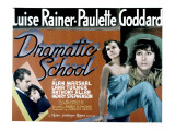 Dramatic School, Alan Marshal, Luise Rainer, Paulette Goddard, 1938 Poster