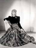 Lucille Ball in a Portrait, 1940's Photo