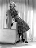 Betty Grable in Plaid, Pleated Sports Dress, 1938 Poster