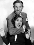 George Burns and Gracie Allen, 1936 Print