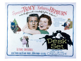 The Desk Set, Spencer Tracy, Katharine Hepburn, 1957 Prints