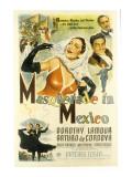 Masquerade in Mexico, Dorothy Lamour, Arturo De Cordova, Patric Knowles, 1945 Photo