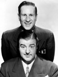 Bud Abbott, Lou Costello, 1940s Photographie