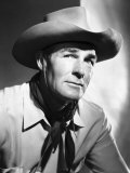 Return of the Bad Men, Randolph Scott, 1948 Print