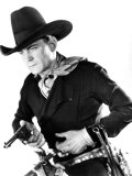 Portrait of Buck Jones, c.1930s Print
