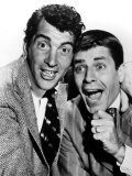 Dean Martin and Jerry Lewis Cut Up for the Cameras, Late 1940s Photo