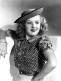 Betty Grable, Late 1930s Print