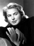 Portrait of Ingrid Bergman Kunstdruck