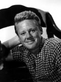 Van Johnson Wearing a Checkered Shirt Print