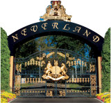 Neverland Gates PAPPFIGUREN IN LEBENSGRÖSSE