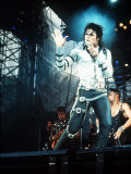 Michael Jackson in Concert at Cardiff Arms Park, 26th July 1988 Reproduction photographique