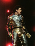 Michael Jackson Performing on Stage in Sheffield, July 10, 1997 Fotografie-Druck