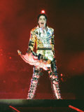 Michael Jackson on Stage in Prague, September 8, 1996 Photographie