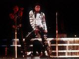 Michael Jackson Concert in Rome, 1988 Fotografie-Druck