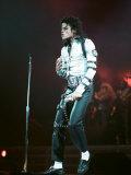 Michael Jackson in Concert at Wembley, July 22, 1988 Fotodruck