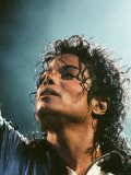 Michael Jackson in Concert at Milton Keynes, September 10, 1988 Papier Photo