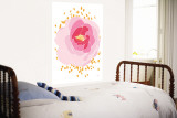 Pink Peony Wall Mural by Avalisa 