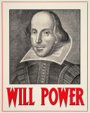 Will Power Tin Sign
