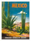 Mexico, Ciudad Juarez, Chihuahua, c.1950 Wydruk giclee autor Magallon