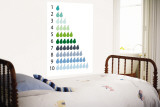 Counting Pears Wall Mural by  Avalisa