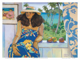 Lanikai, Hawaii Studio Prints by Susan McGovney Hansen