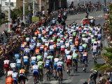 Third Stage of Tour de France, Leaving Old-Port Marseille, July 7, 2009 Fotografisk trykk