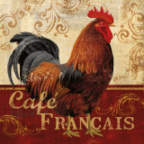 Cafe Francais Posters by Conrad Knutsen