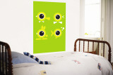 Green Eyes Wall Mural by Avalisa 