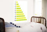 Counting Lemons and Limes Wall Mural by  Avalisa