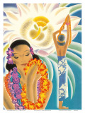 The Offering, Hawaiian Blessing Posters by Frank MacIntosh
