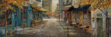 Embracing City Charm Print by Ruane Manning