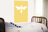 Yellow Firefly Wall Mural by  Avalisa