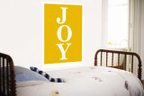 Orange Joy Wall Mural by  Avalisa