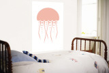 Jellyfish Wall Mural by  Avalisa