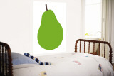 Pear Wall Mural by Avalisa