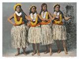 Hawaiian Hula Dancers, c.1880 Prints