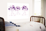 Purple Wonder Wall Mural by  Avalisa