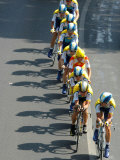 Fourth Stage of Tour de France, Montpellier, July 7, 2009 Photographic Print