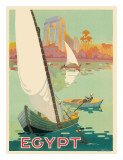 Egyptian State Tourist Department Giclée-tryk af H. Hashim