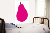Pink Pear reproduction murale géante par  Avalisa