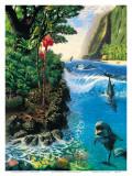 Armonia sull'isola Poster di Andrew Annenberg