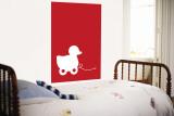 Red Ducky reproduction murale géante par  Avalisa
