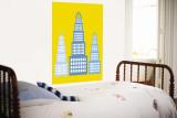 Yellow Skyscraper Vægplakat af Avalisa