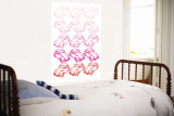 Pink Bug Wall Mural by Avalisa 