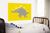 Yellow Spike Wall Mural by  Avalisa
