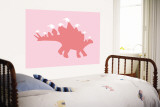 Pink Spike Wall Mural by  Avalisa