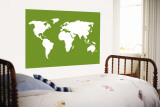 Green World Wall Mural by Avalisa 