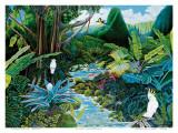 Iao Valley, Maui, Hawaii Print by Ari Vanderschoot